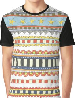 bright decorative stripes Graphic T-Shirt