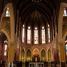 St. Peter's Cathedral Basilica by Michael McCasland