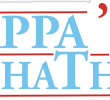 Kappa Alpha Theta USA 70 Sticker