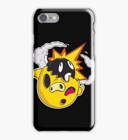 Golden Piggy Bomb iPhone Case/Skin