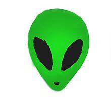 Happy Alien Photographic Print