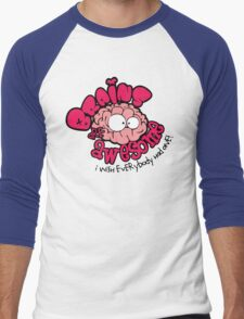 Brain Are Awesome : I Wish Everybody Had One Men's Baseball ¾ T-Shirt
