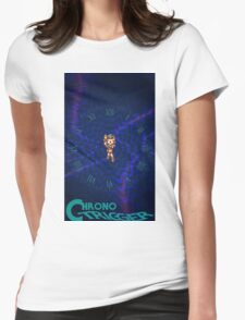 Chrono Trigger (Logo) Womens Fitted T-Shirt