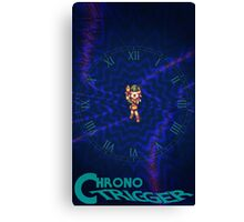Chrono Trigger (Logo) Canvas Print