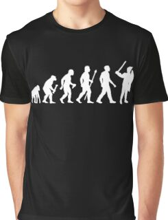 Evolution Of Man Riot Police Graphic T-Shirt