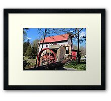 Old Mill of Guilford Framed Print