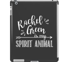 Rachel Green Is My Spirit Animal | Friends TV Show Chalkboard Design iPad Case/Skin