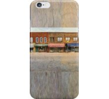 On The Left Side Of The Street iPhone Case/Skin