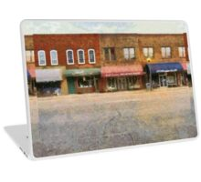 On The Left Side Of The Street Laptop Skin