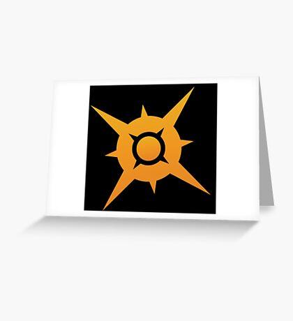 Pokemon Sun Greeting Card