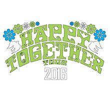 happy together tour 2016 Photographic Print