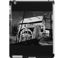 Old Mill of Guilford in B&W iPad Case/Skin