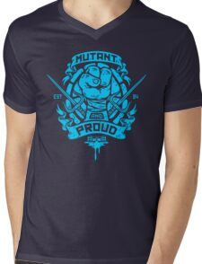 Mutant and Proud Mens V-Neck T-Shirt