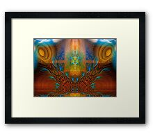 Heal The Mind Framed Print