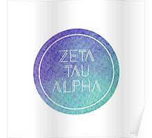 Zeta Tau Alpha Poster