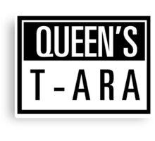 Queens T-ARA Canvas Print