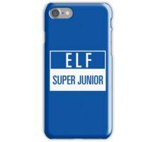 elf suju iPhone Case/Skin