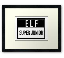 elf suju Framed Print