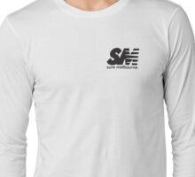 Sure Melburn Black Long Sleeve T-Shirt