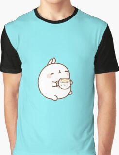 Molang with coffee Graphic T-Shirt
