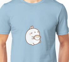 Molang with coffee Unisex T-Shirt
