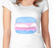 Transgender Burger Women's Fitted Scoop T-Shirt