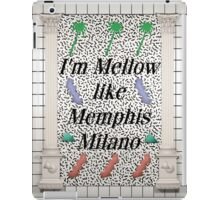 Mellow like Memphis Milano iPad Case/Skin