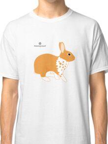 Blanket Brocken Rabbit, Orange Classic T-Shirt