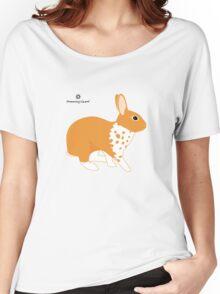 Blanket Brocken Rabbit, Orange Women's Relaxed Fit T-Shirt