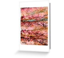 Silver Vein Greeting Card