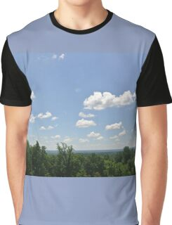 Clouds and Trees Graphic T-Shirt
