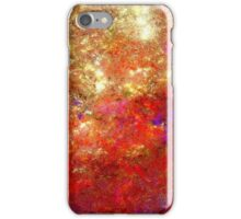Red Sky in the Morning iPhone Case/Skin