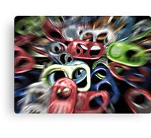 Caffeine Explosion Canvas Print