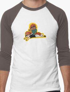 hiatus doodle Men's Baseball ¾ T-Shirt