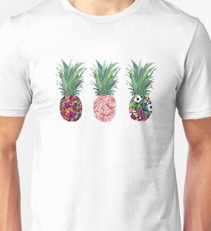 Pineapples rainbow Unisex T-Shirt