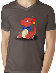 Charming Charmeleon Mens V-Neck T-Shirt