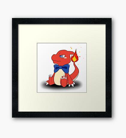 Charming Charmeleon Framed Print