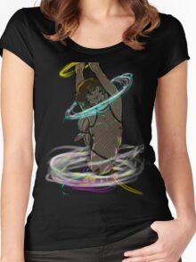 Raverbun Women's Fitted Scoop T-Shirt