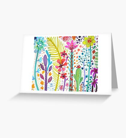 mighty jungle Greeting Card