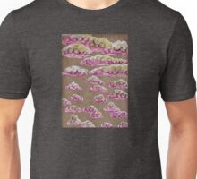 Pink Clouds in the Grey Sky Unisex T-Shirt