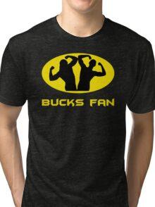 Bucks Fan (Grey) Tri-blend T-Shirt