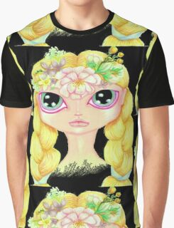 Pretty Spring Girl Graphic T-Shirt