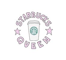 Starbucks Queen Photographic Print