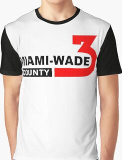 Miami Wade County  Graphic T-Shirt