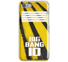 BIGBANG 10 iPhone Case/Skin