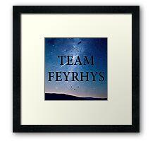 Team Feyrhys Framed Print