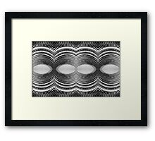 Mechanical Abstract Framed Print