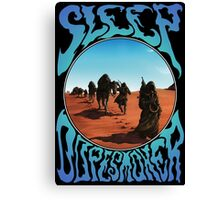 Sleep Dopesmoker Canvas Print