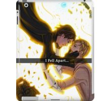.: I fell apart:. iPad Case/Skin