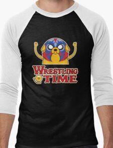 Wrestling Time Men's Baseball ¾ T-Shirt